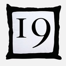 """19"" Throw Pillow"