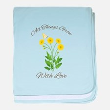 Grow With Love baby blanket