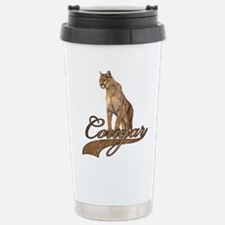 Cute Cougar Travel Mug