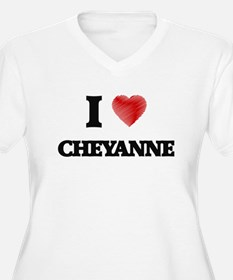 I Love Cheyanne Plus Size T-Shirt