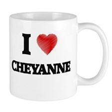 I Love Cheyanne Mugs