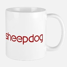 Iceland Sheepdog (dog paw red Mug