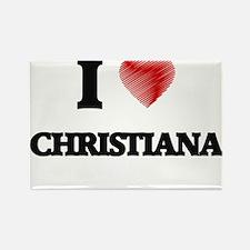 I Love Christiana Magnets
