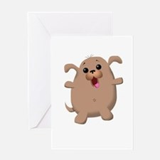 Puppy Pug Greeting Cards