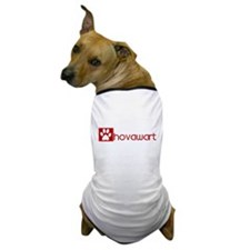 Hovawart (dog paw red) Dog T-Shirt