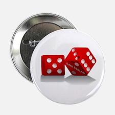 "Las Vegas Red Dice 2.25"" Button"