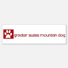 Greater Swiss Mountain Dog (d Bumper Bumper Bumper Sticker