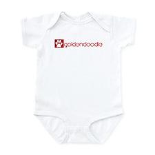 Goldendoodle (dog paw red) Infant Bodysuit