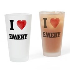 Unique Emery Drinking Glass