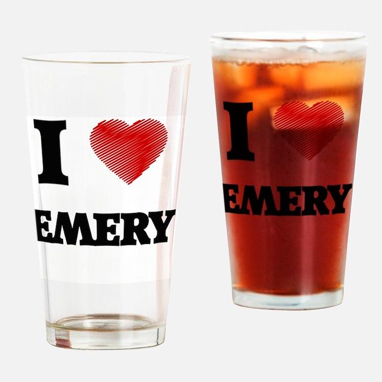 Cute Emery Drinking Glass