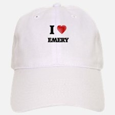 I Love Emery Baseball Baseball Cap