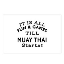 It is all fun and game ti Postcards (Package of 8)