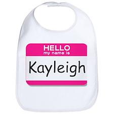 Kayleigh Hello My Name is Tag Bib