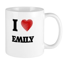 I Love Emily Mugs