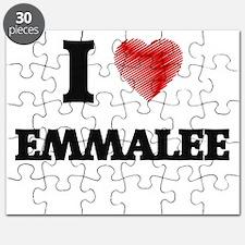 I Love Emmalee Puzzle