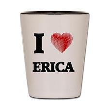 Cute Erica Shot Glass