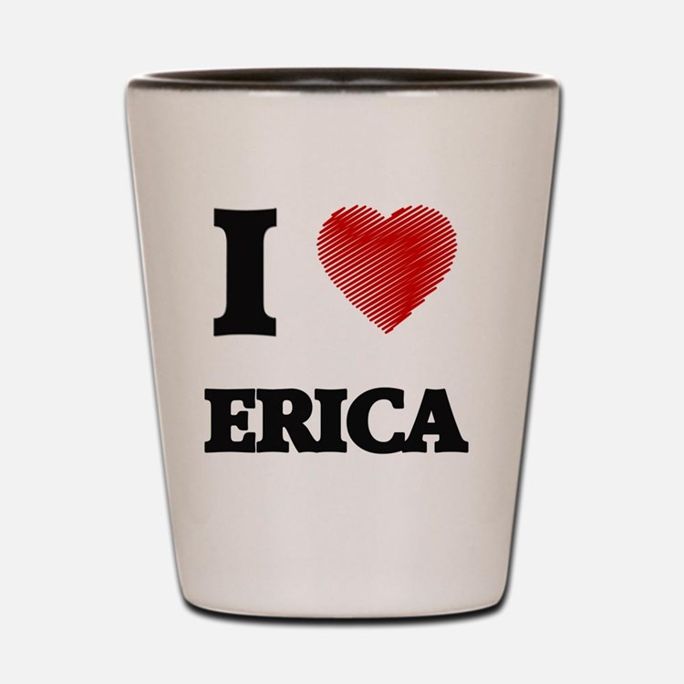 Cute Erica Shot Glass