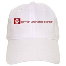 German Wirehaired Pointer (do Baseball Cap