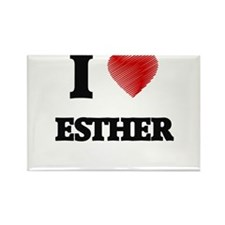 I Love Esther Magnets