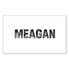 Meagan Rectangle Decal