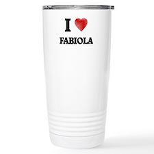 I Love Fabiola Travel Mug