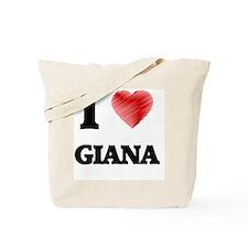 Cute Giana Tote Bag