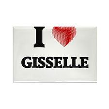 I Love Gisselle Magnets