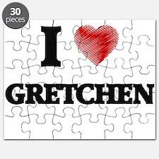 I Love Gretchen Puzzle