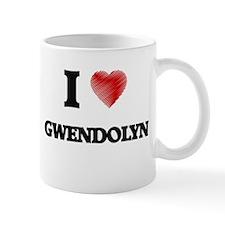 I Love Gwendolyn Mugs
