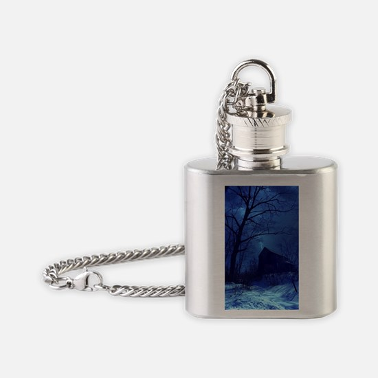 Cute H.p. Flask Necklace