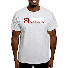 Foxhound (dog paw red) T-Shirt