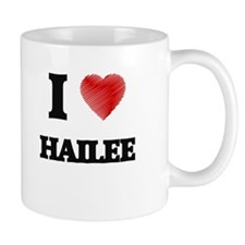 I Love Hailee Mugs