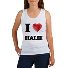 I Love Halie Tank Top