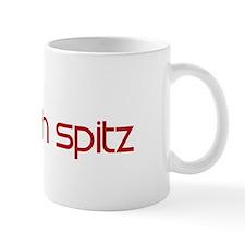 Finnish Spitz (dog paw red) Mug