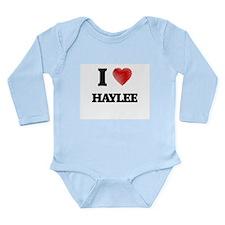 I Love Haylee Body Suit