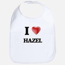 I Love Hazel Bib