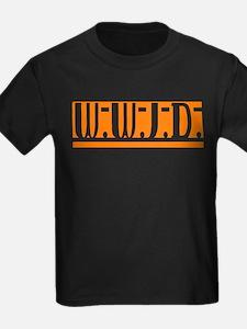 Orange WWJD T
