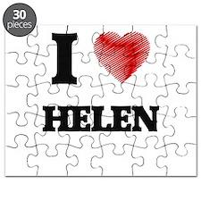 I Love Helen Puzzle