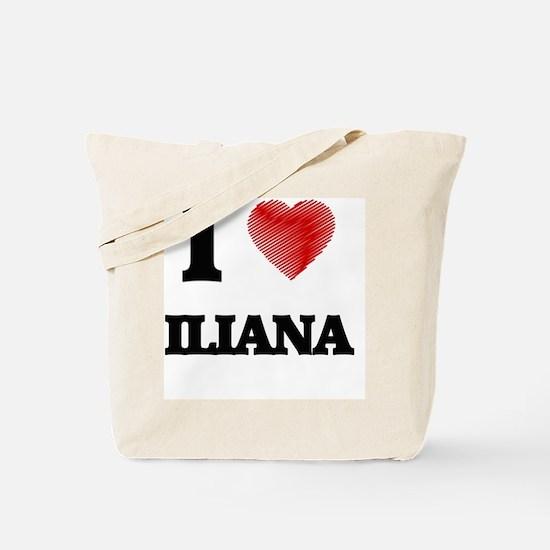 I Love Iliana Tote Bag