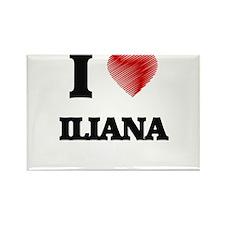 I Love Iliana Magnets
