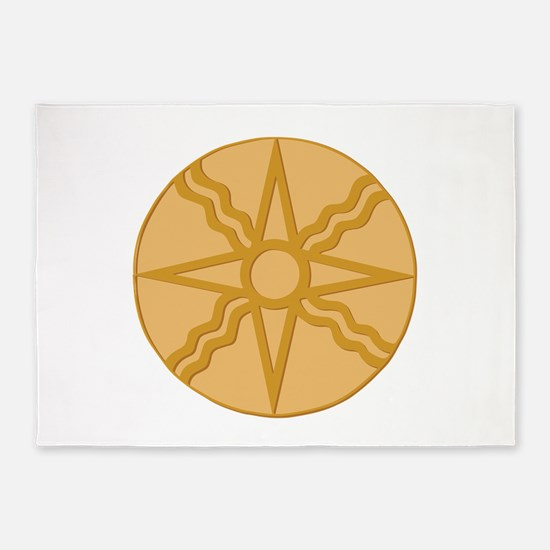 Star of Shamash 5'x7'Area Rug