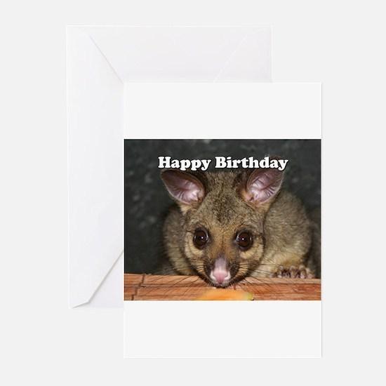 Happy Birthday: cute Australian pos Greeting Cards