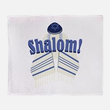Shalom! Throw Blanket
