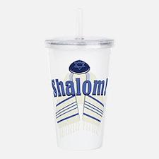 Shalom! Acrylic Double-wall Tumbler