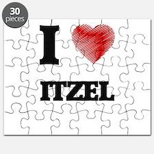 I Love Itzel Puzzle