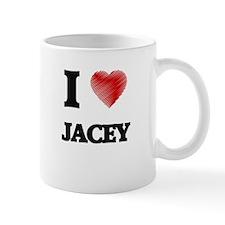 I Love Jacey Mugs