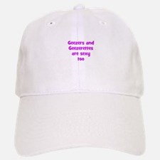 Geezers and Geezerettes are s Baseball Baseball Cap