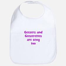 Geezers and Geezerettes are s Bib
