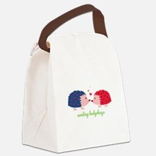 Sending Hedgehugs Canvas Lunch Bag