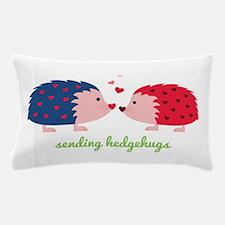 Sending Hedgehugs Pillow Case